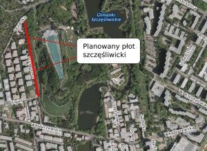 Park Szczęśliwicki chcieli grodzić dwumetrowym płotem