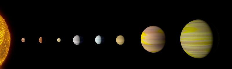 Układ planetarny Kepler-90