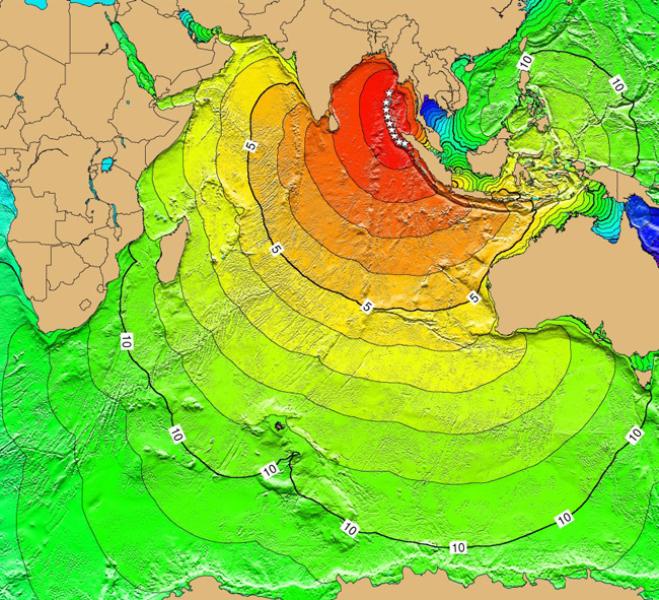 Tsunami na Oceanie Indyjskim