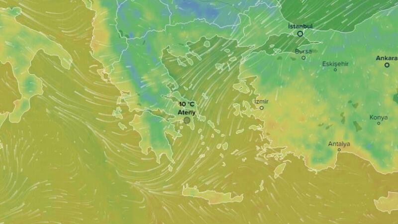 Temperatura w Atenach 10.02 (ventysky.com)