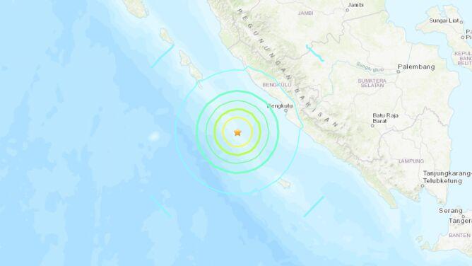 Dwa silne trzęsienia ziemi nawiedziły Indonezję