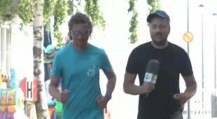 Daniel Stenzel rozmawia z Grzegorzem Kucieńskim