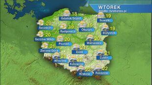 Pogoda na wtorek 26.05